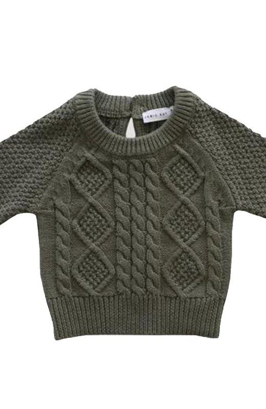 8fb62380d29 Peysa cable knit - Laurel